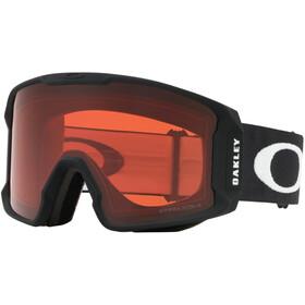 Oakley Line Miner Gafas de Nieve Hombre, matte black/w prizm rose
